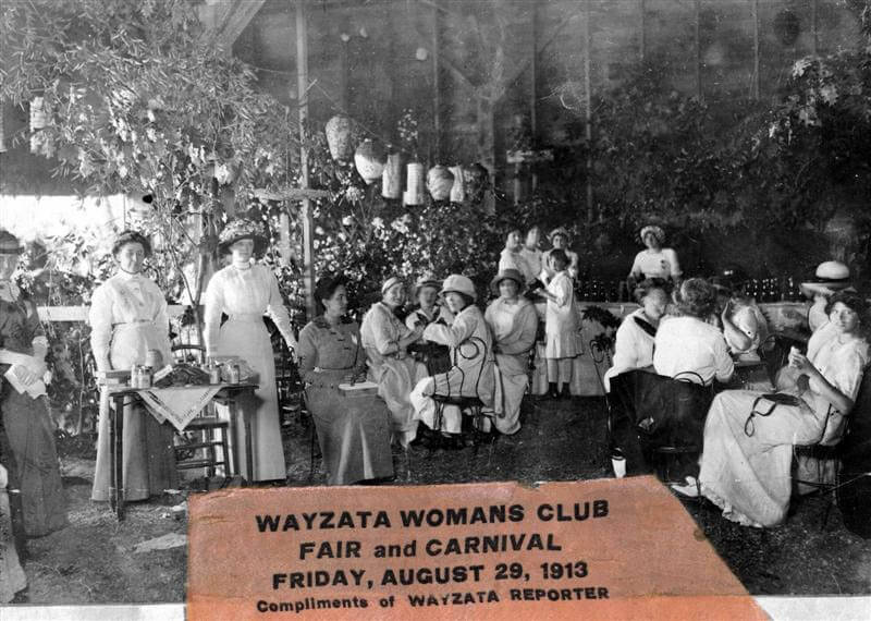Womans Club fair and carnival, 1913