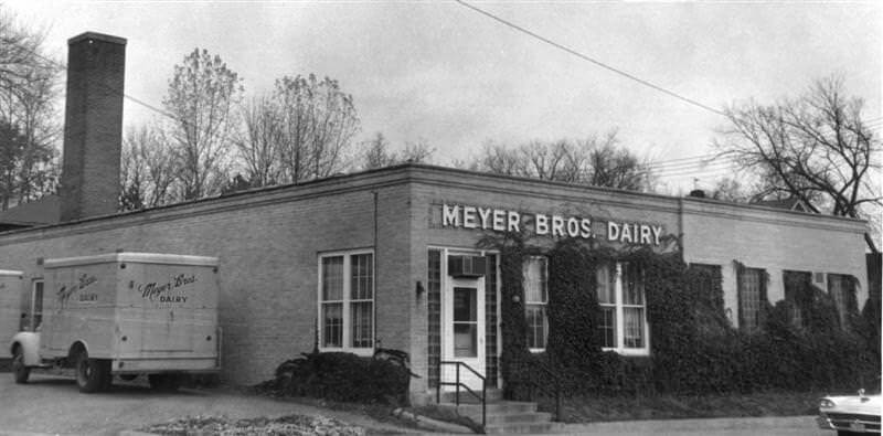 Meyer Brothers dairy in ayzata, circa 1960.