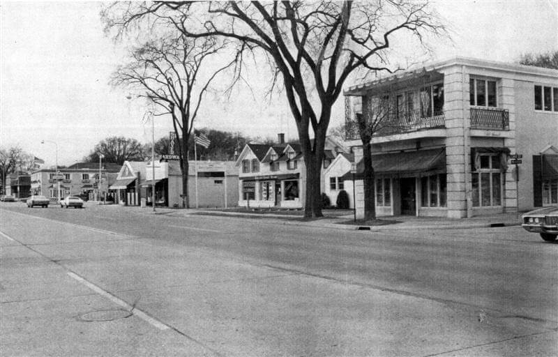 Lake Street circa 1970 with Shaver Hardware