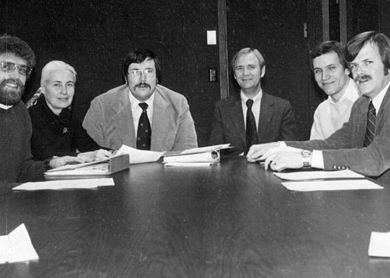 Cliff Otten, Gail See, Gordy Engel, Ray Mithum, Jr., Bill Eggero, Jr., David Berg.